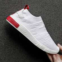 Men Wide Fit Slip On Sneakers