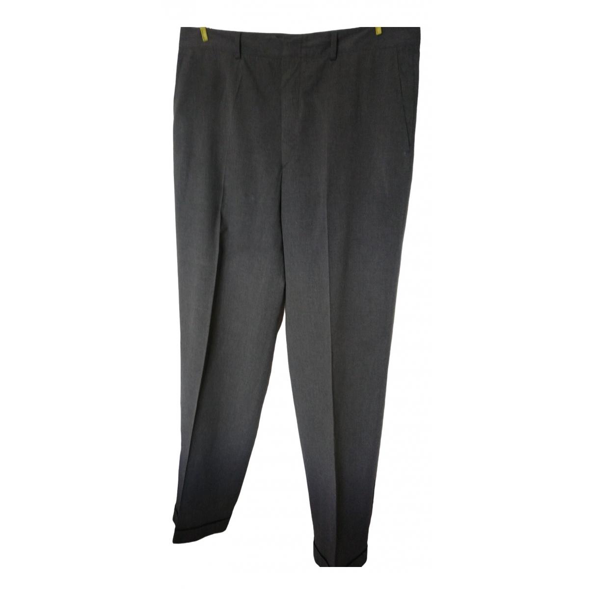 Cerruti \N Grey Cotton Trousers for Men 54 IT