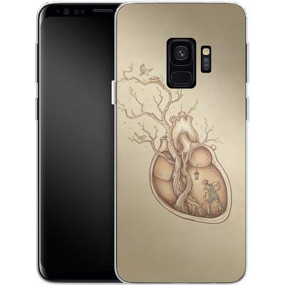 Samsung Galaxy S9 Silikon Handyhuelle - Tree Of Life von Enkel Dika