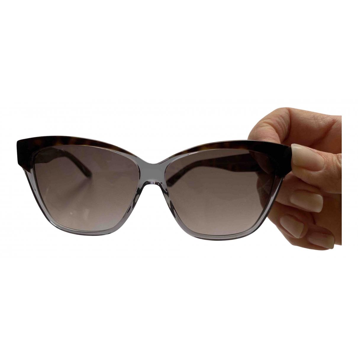 Dior \N Sonnenbrillen in  Braun Kunststoff