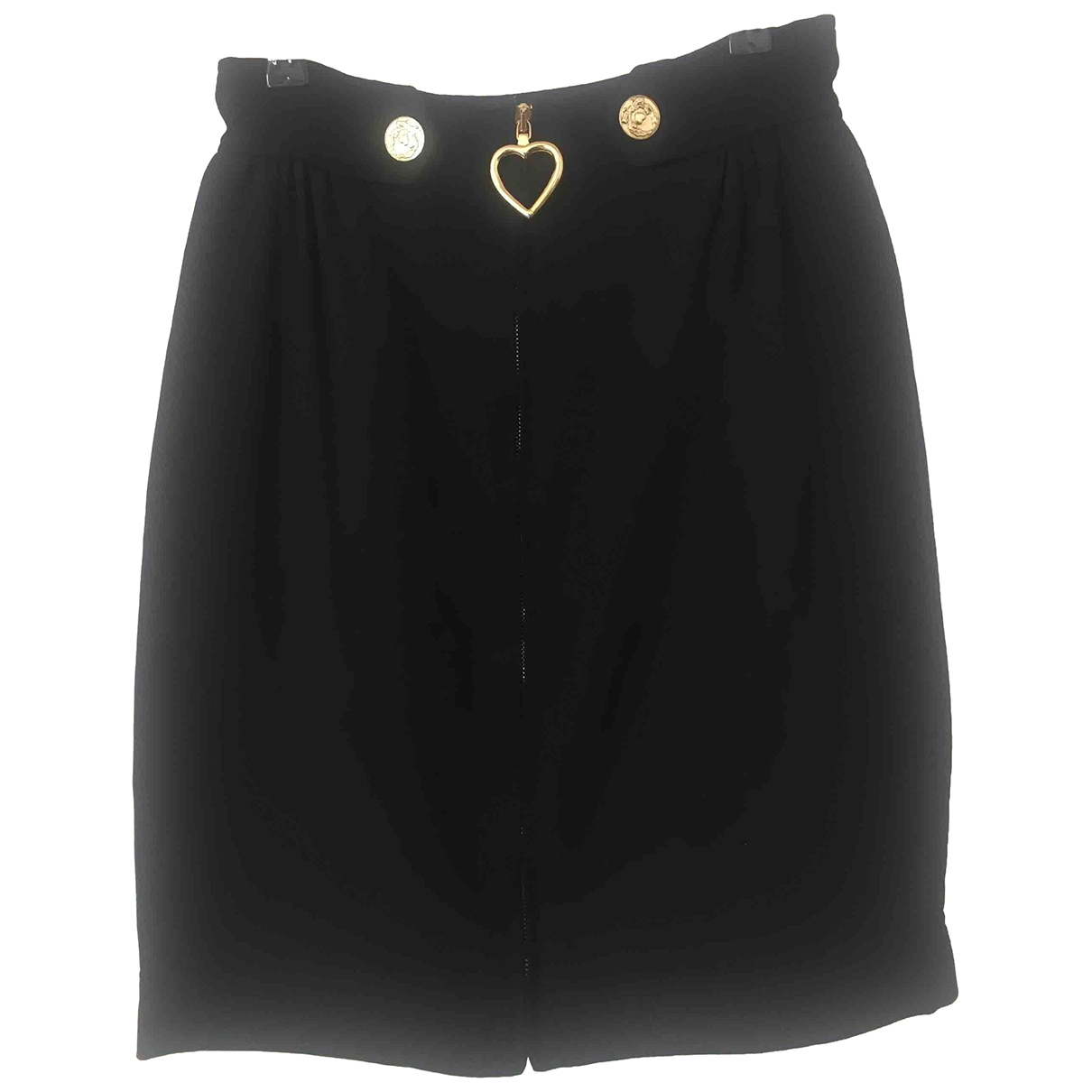 Moschino Cheap And Chic \N Black Wool skirt for Women 36 FR
