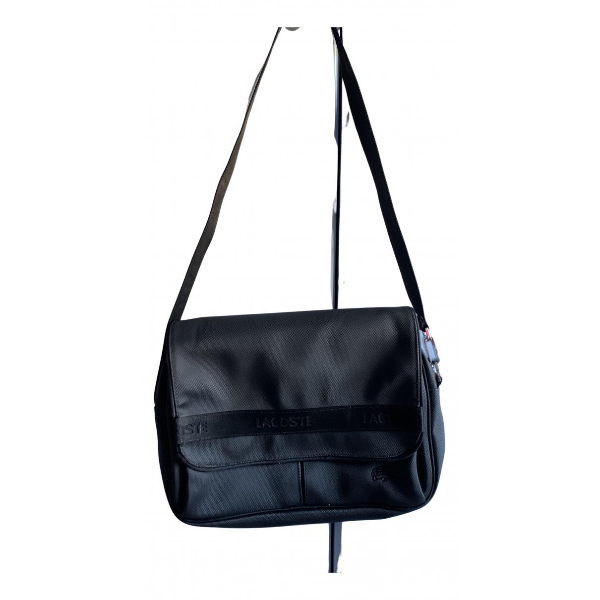 Lacoste N Black Faux fur handbag for Women N