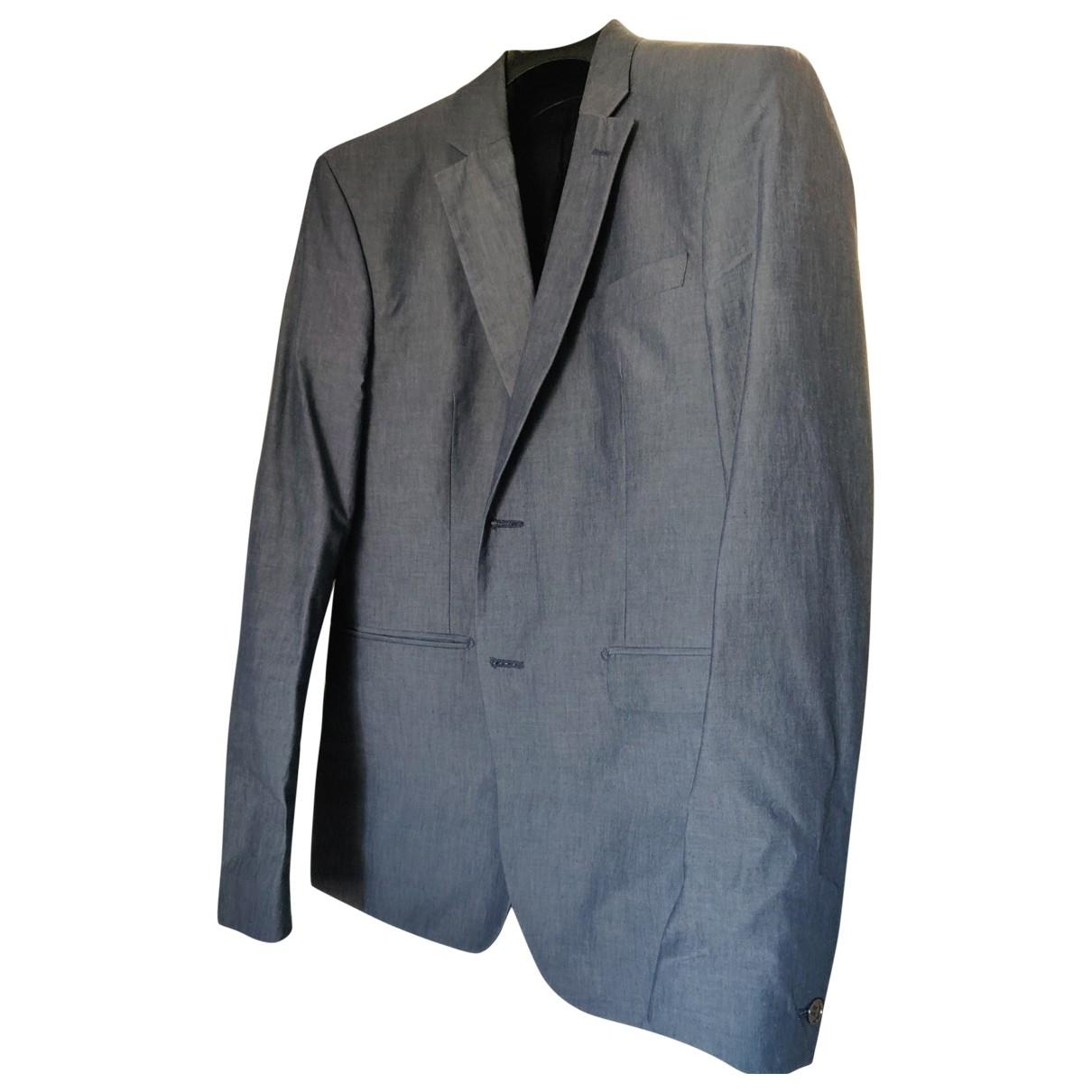 Acne Studios - Costumes   pour homme en coton - gris