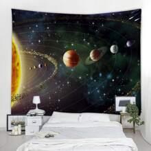 Galaxy Print Tapestry