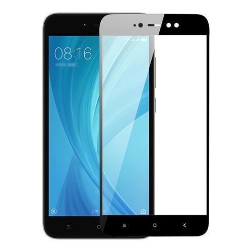 Black Xiaomi Redmi Note 5A Glass Film 3+32GB 4+64GB Version 0.26mm 2.5D Arc Edge Explosion-proof Membrane Screen Film