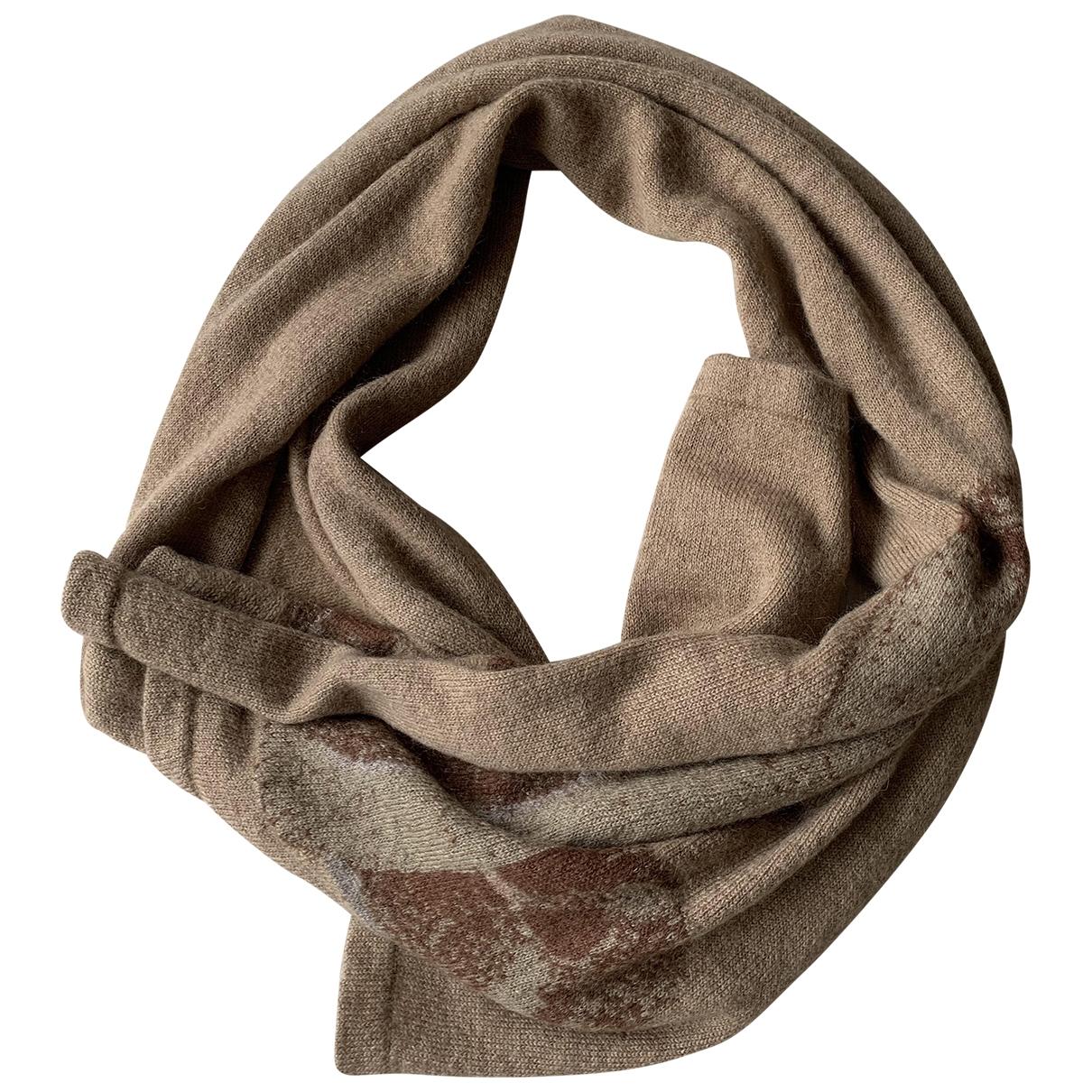 Givenchy \N Beige Wool scarf for Women \N