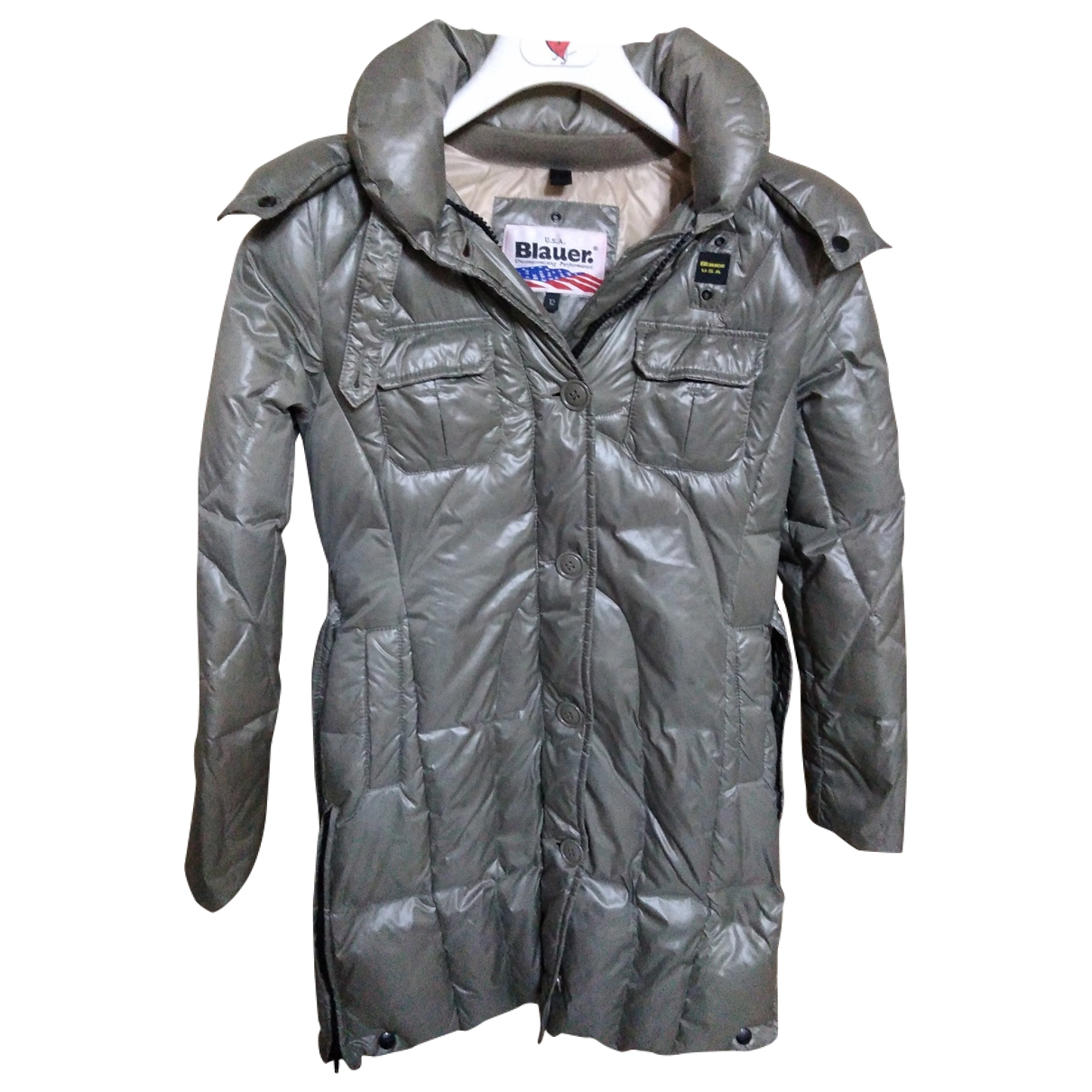 Blauer \N Green jacket & coat for Kids 12 years - XS FR