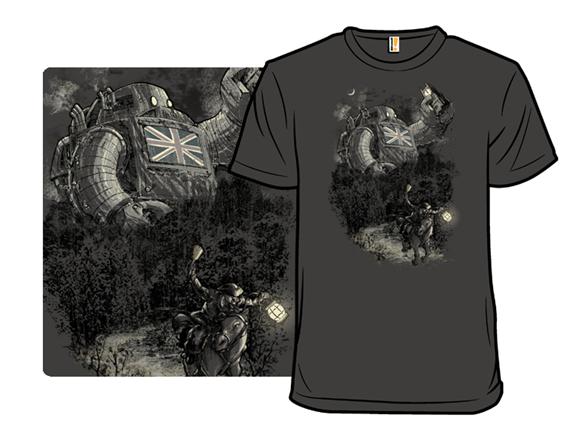 Twenty If By Giant Robot T Shirt