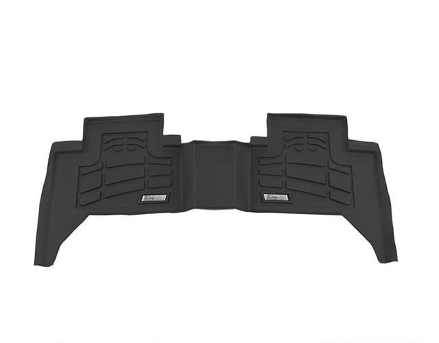 Westin Black 2nd Row Wade Sure Fit Floor Liners Dodge Ram 1500 Quad Cab 2002-2008