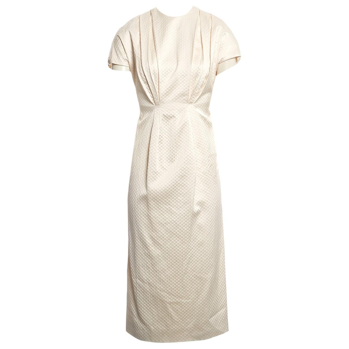 Emilia Wickstead \N Ecru Cotton dress for Women 8 UK
