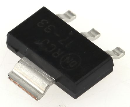 ON Semiconductor NCP1117ST33T3G, LDO Regulator, 1A, 3.3 V, ±1% 3+Tab-Pin, SOT-223 (20)