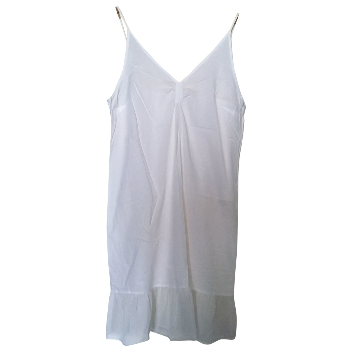 Et Vous - Robe   pour femme en coton - blanc