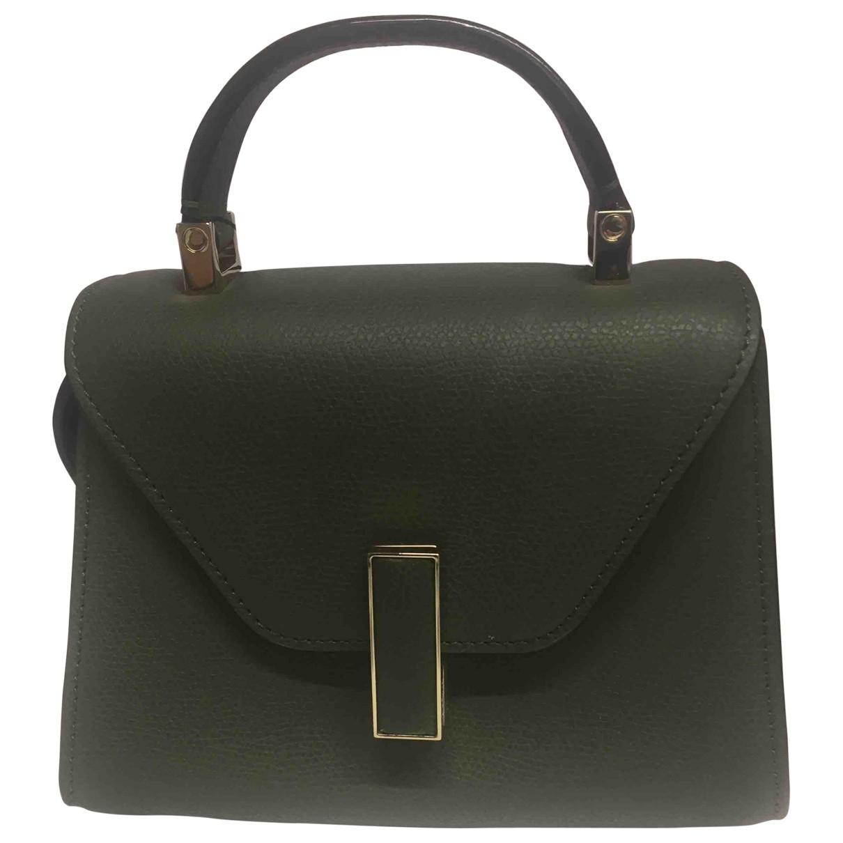 Valextra Iside Handtasche in  Gruen Leder