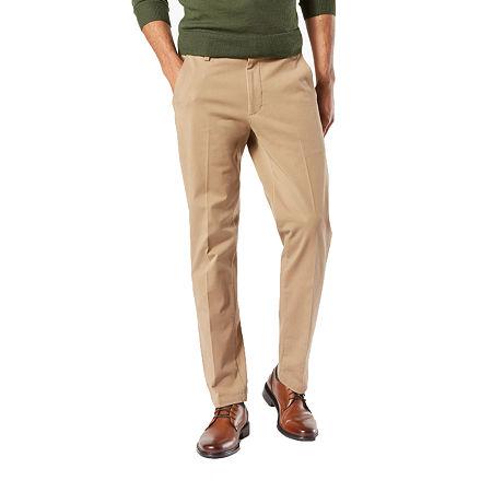Dockers Men's Slim Fit Workday Khaki Smart 360 Flex Pants D1, 31 32, Beige