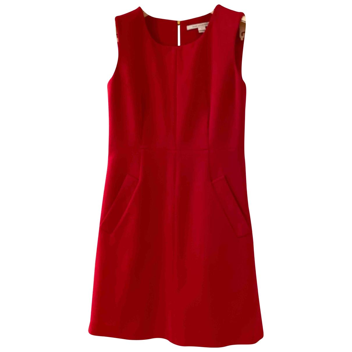 Diane Von Furstenberg \N Kleid in  Rosa Polyester