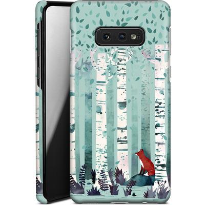 Samsung Galaxy S10e Smartphone Huelle - Birches von Little Clyde
