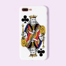 1pc Poker Pattern iPhone Case