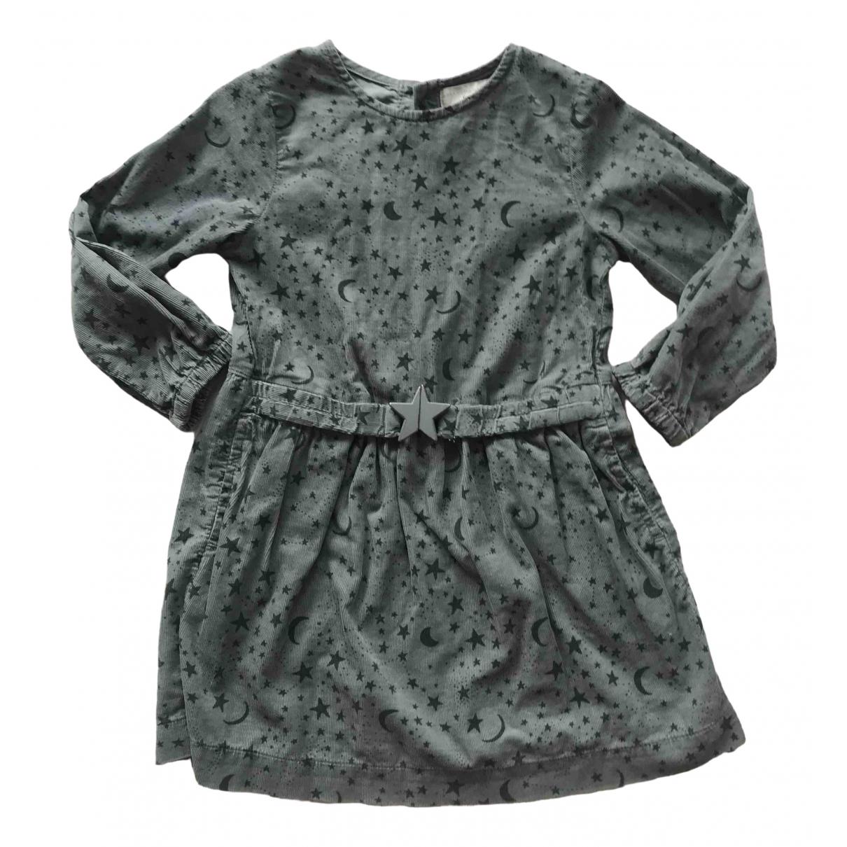 Stella Mccartney Kids \N Kleid in  Blau Baumwolle