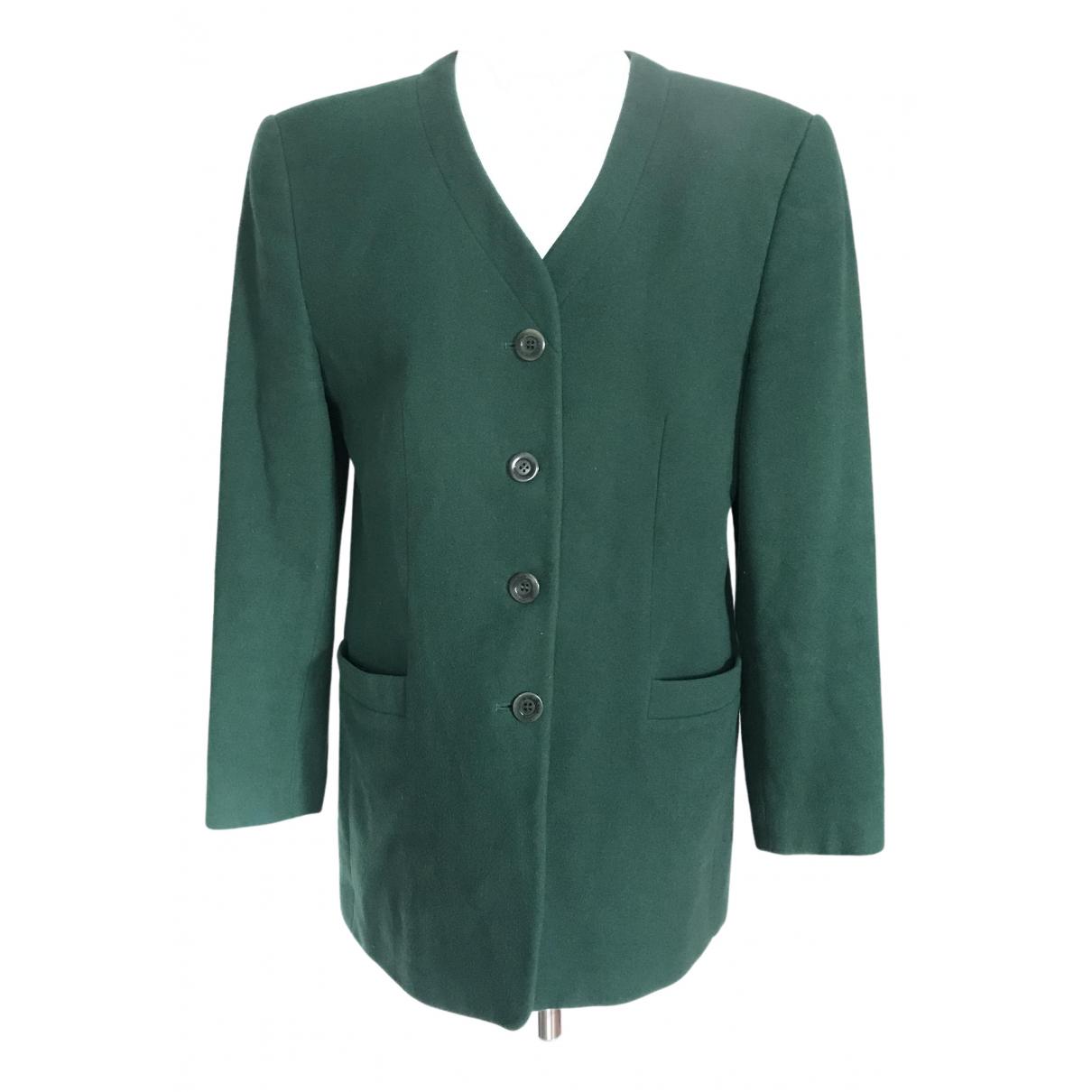 Weber - Manteau   pour femme en laine - vert