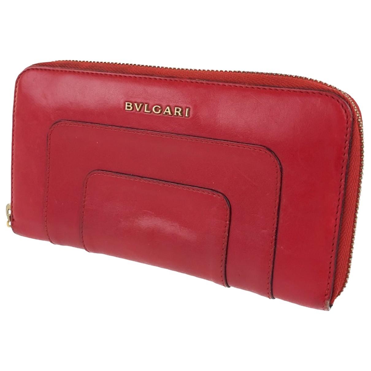 Bvlgari - Portefeuille   pour femme en cuir