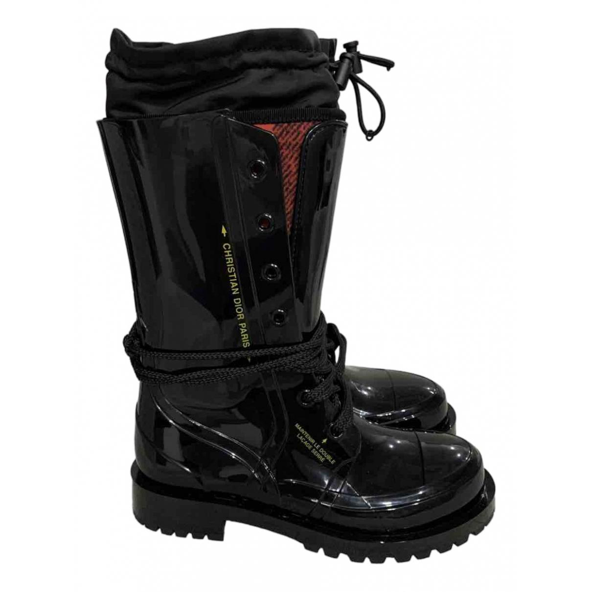 Dior Dior Camp Black Boots for Women 35 EU