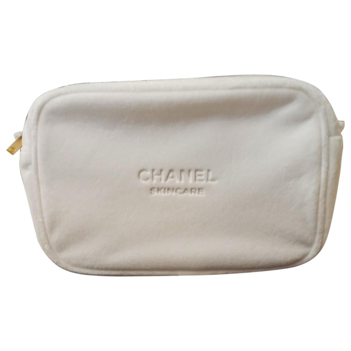 Chanel - Sac de voyage   pour femme - blanc