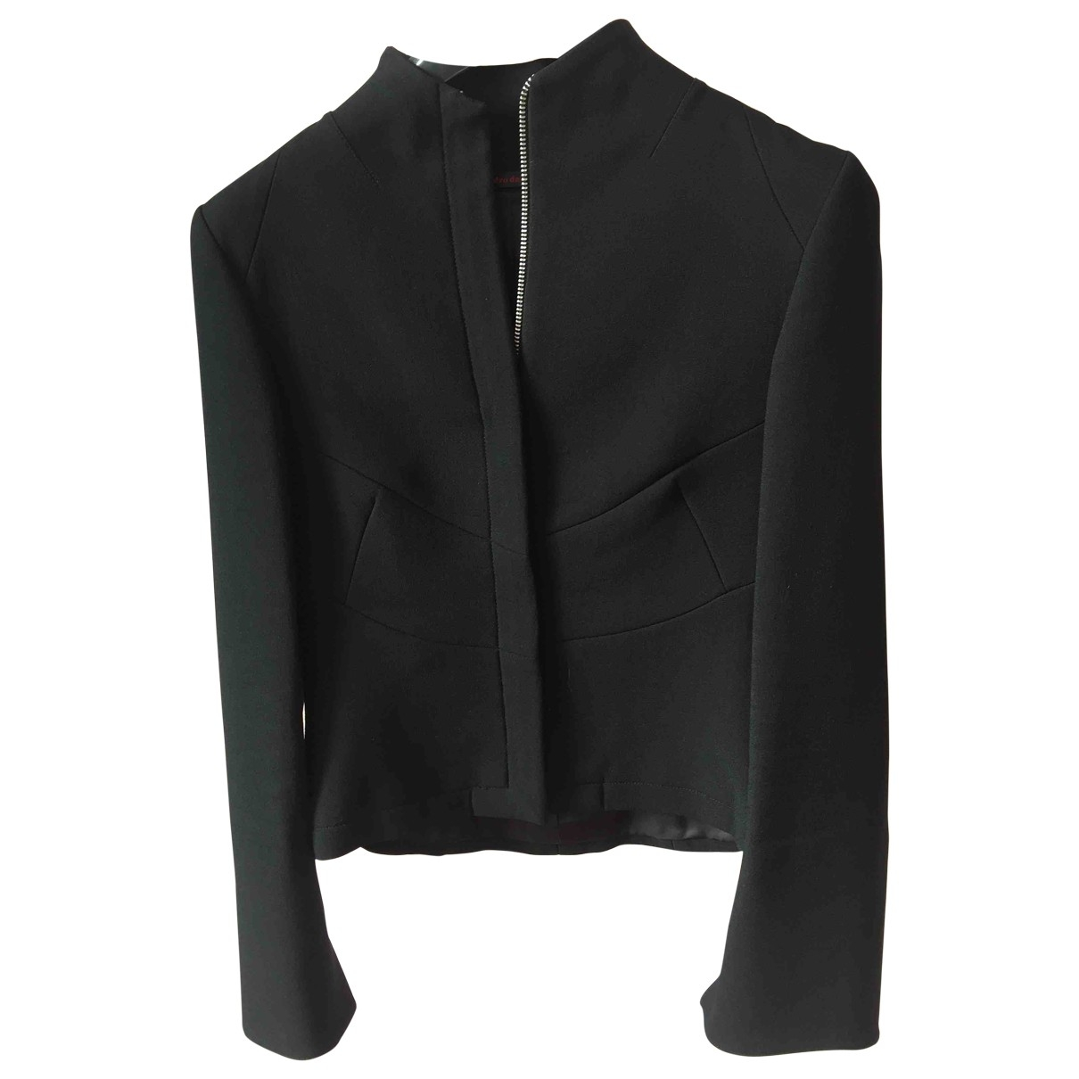 Non Signé / Unsigned \N Black jacket for Women 38 IT
