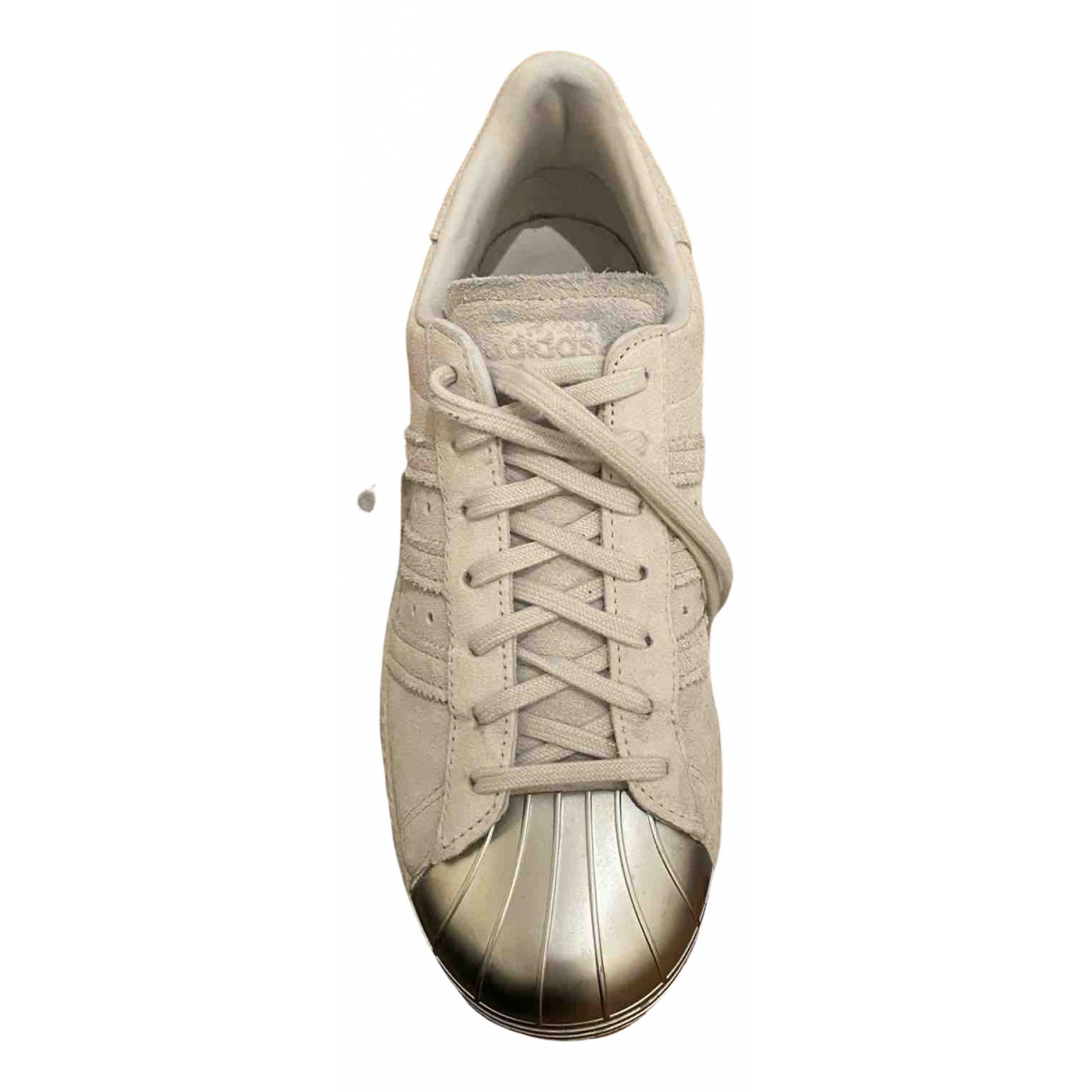 Adidas Superstar Grey Suede Trainers for Women 40 IT