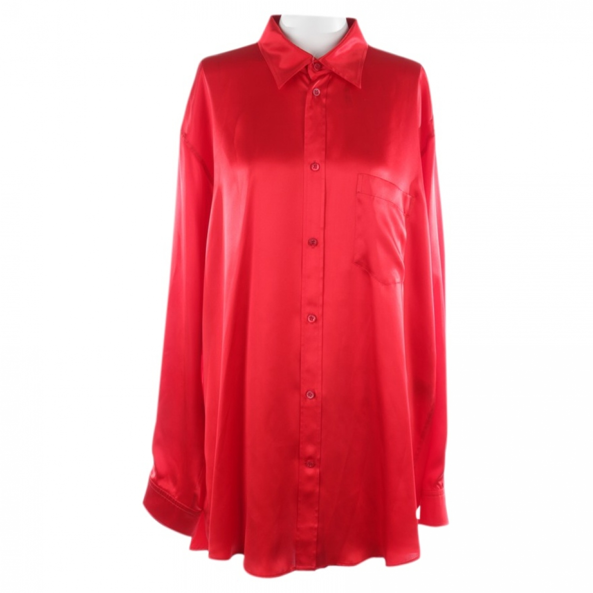 Balenciaga \N Top in  Rot Seide