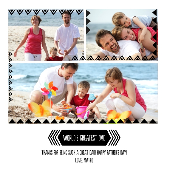 Family + Friends 12x12 Designer Print - Glossy, Prints -Worlds Greatest Dad