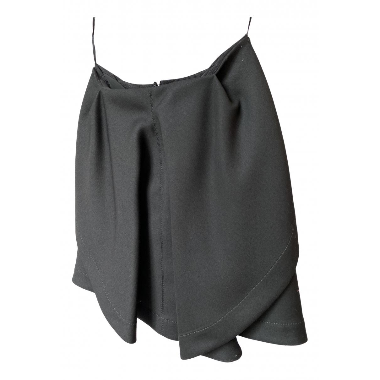 Balenciaga - Jupe   pour femme en laine - noir