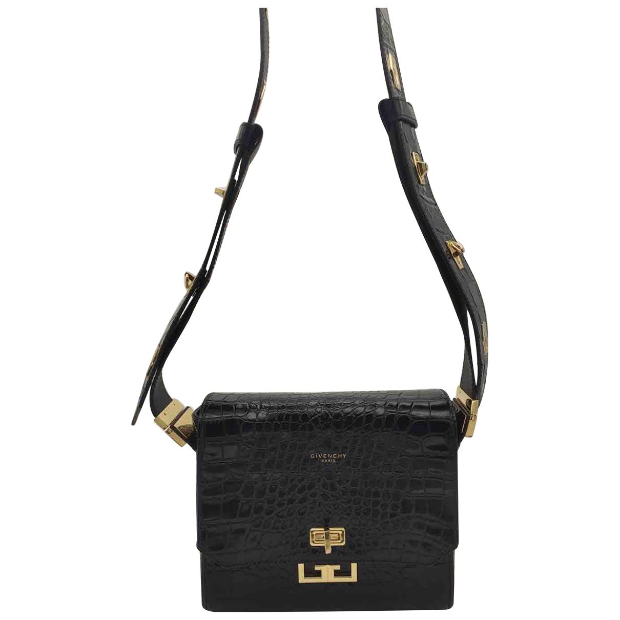 Givenchy - Sac a main Eden pour femme en cuir - noir