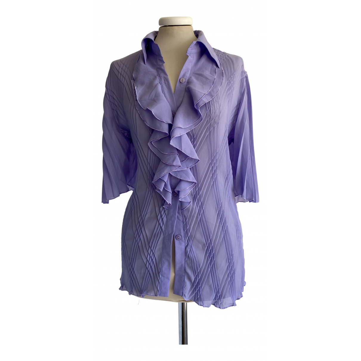 Non Signé / Unsigned \N Purple  top for Women M International