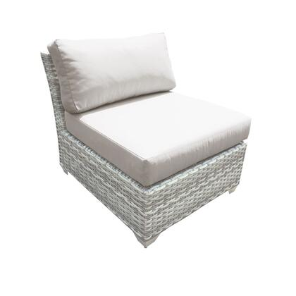 TKC045b-AS Fairmont Armless Sofa with 1 Cover in