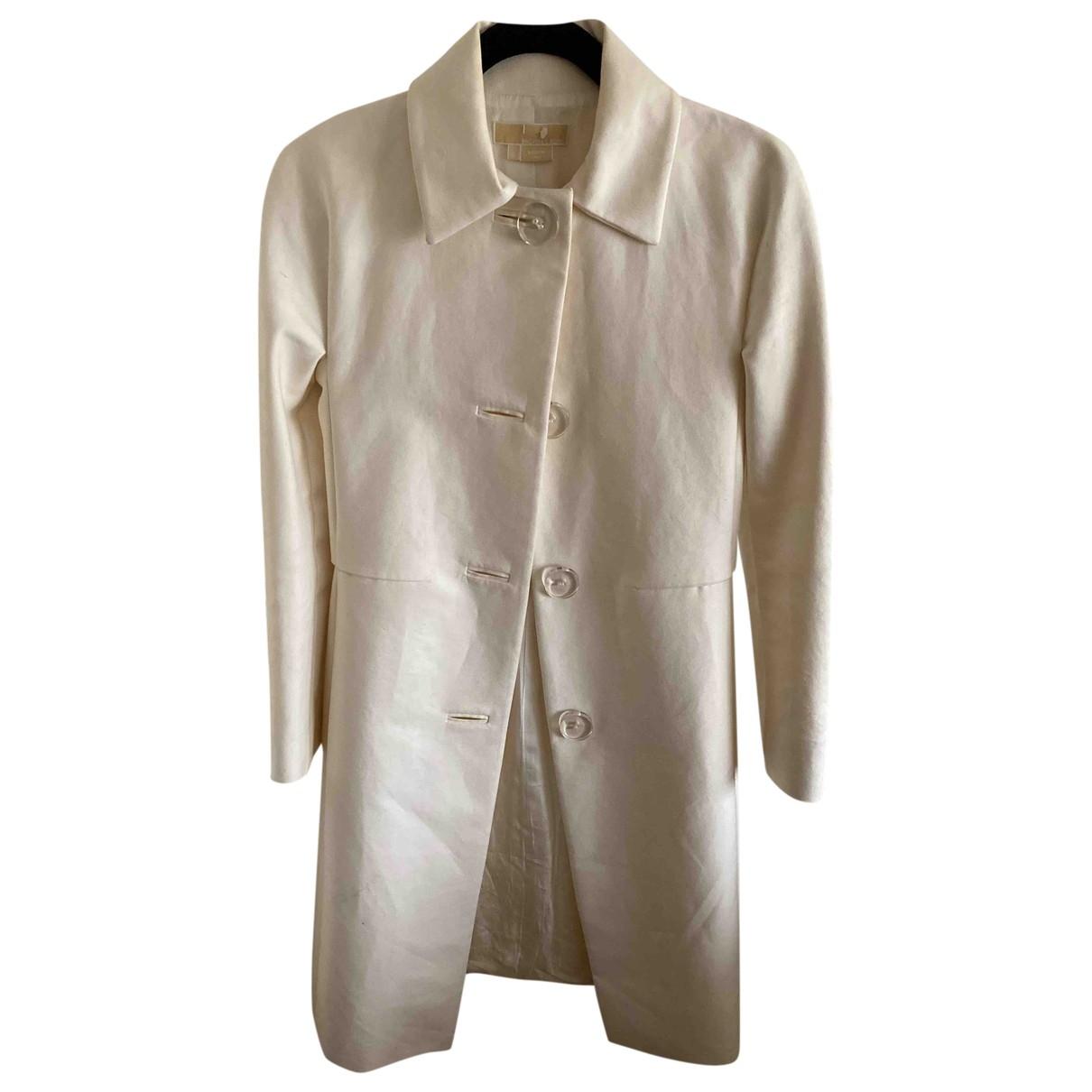 Michael Kors - Trench   pour femme en coton - ecru