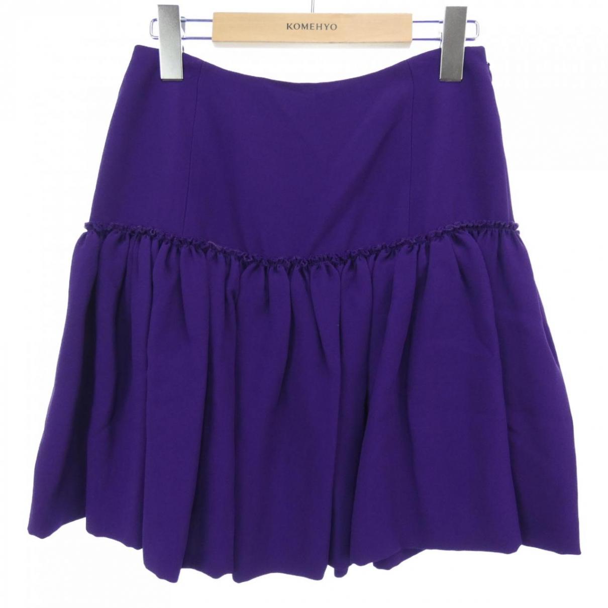 Miu Miu - Jupe   pour femme - violet