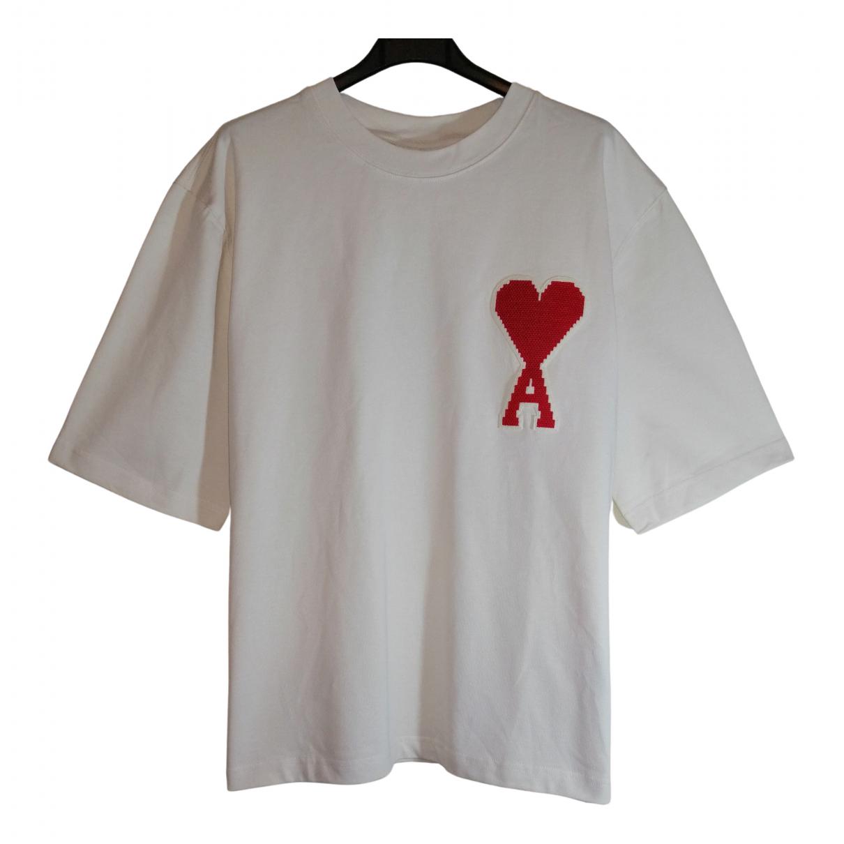 Ami \N Beige Cotton T-shirts for Men M International