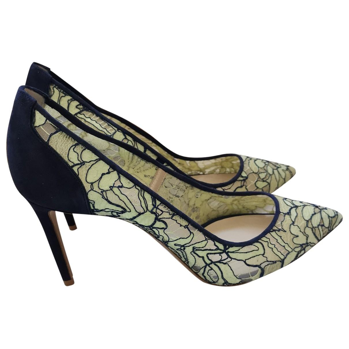Nicholas Kirkwood - Escarpins   pour femme en toile - vert