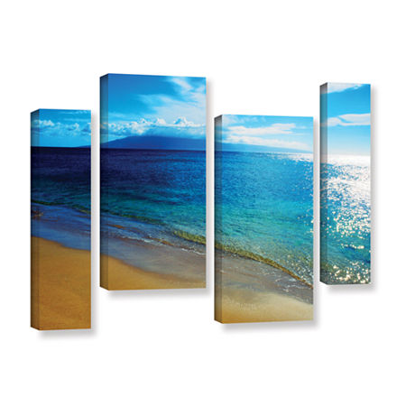 Brushstone Quiet Place 4-pc. Gallery Wrapped Staggered Canvas Wall Art, One Size , Green