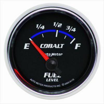 Auto Meter Cobalt Electric Fuel Level Gauge - 6115