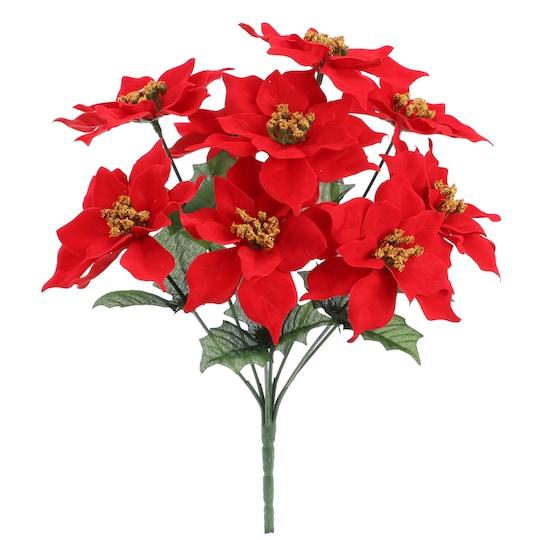 Red Small Poinsettia Bush By Ashland® | Michaels®