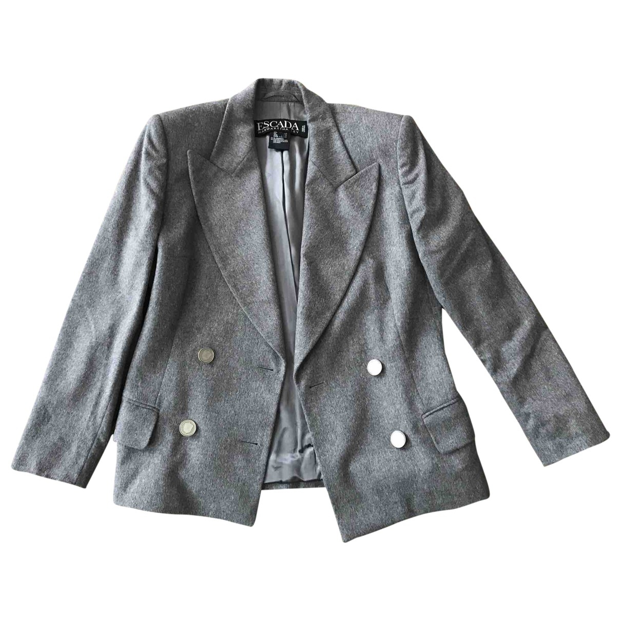 Escada \N Grey Wool jacket for Women 38 FR