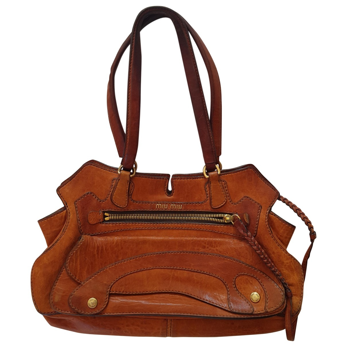 Miu Miu \N Brown Leather handbag for Women \N