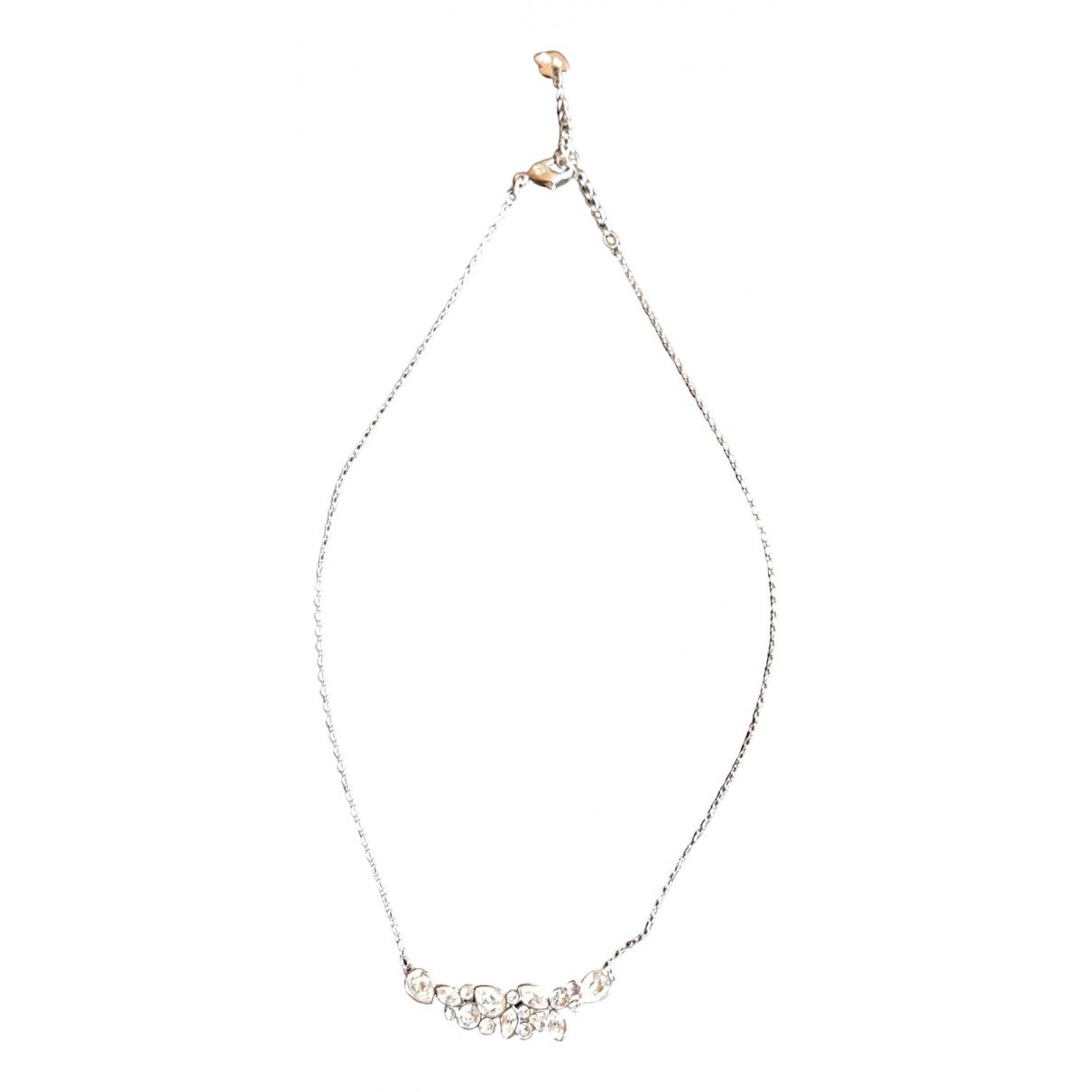 Swarovski - Collier   pour femme en metal - blanc