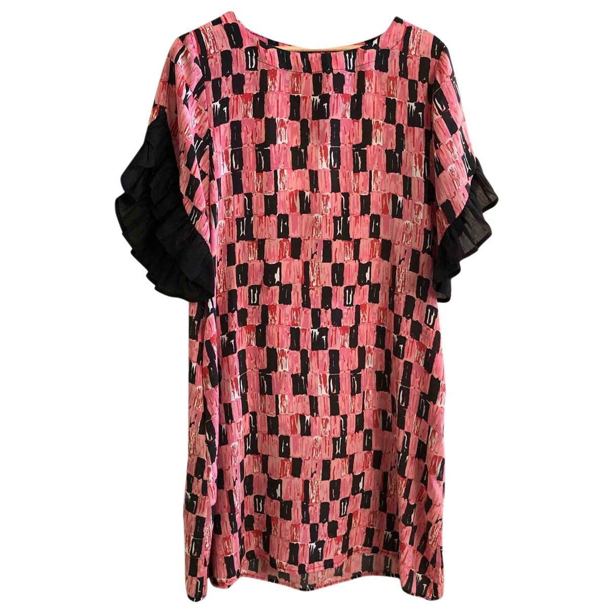 Attic And Barn - Robe   pour femme en laine - rose