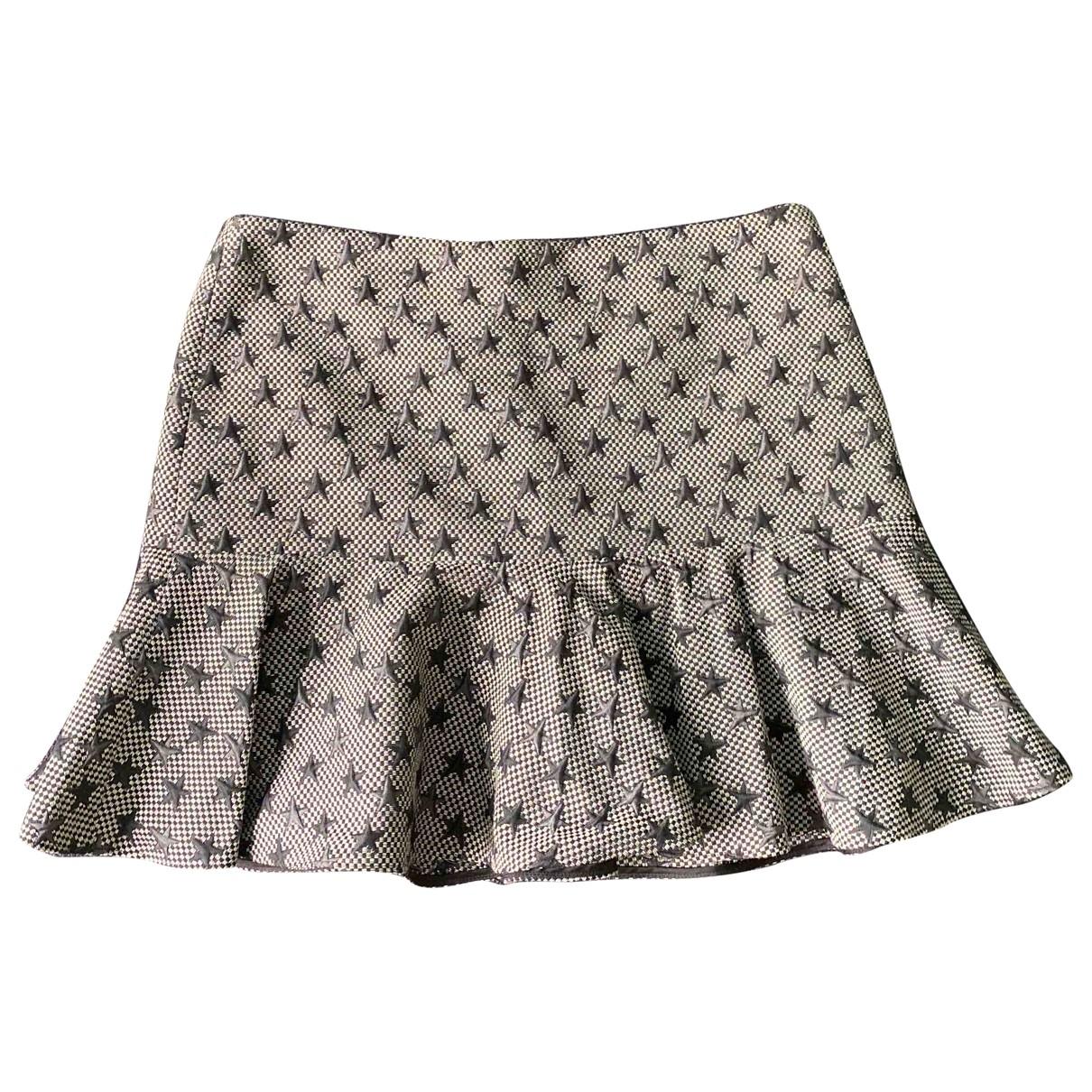 Red Valentino Garavani \N Grey Wool skirt for Women 44 IT