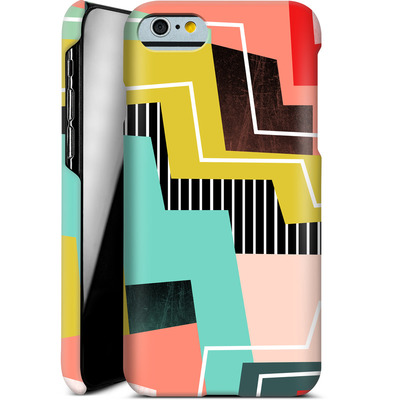 Apple iPhone 6s Smartphone Huelle - Color Block I von Susana Paz