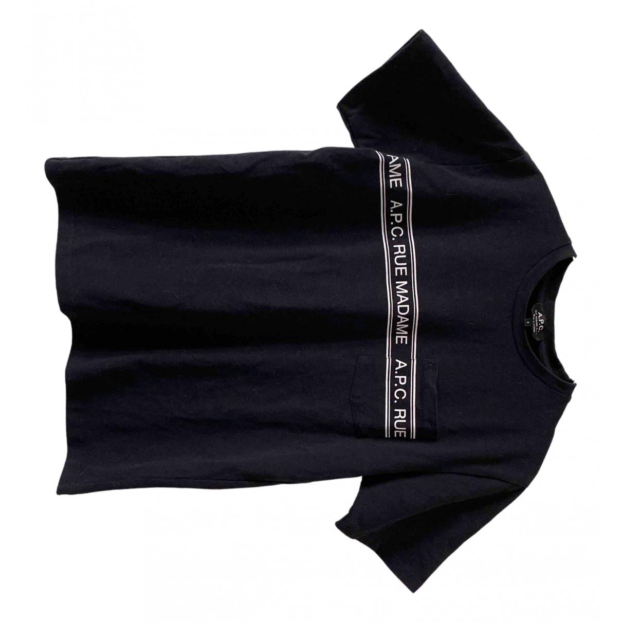 Apc \N T-Shirts in  Marine Baumwolle