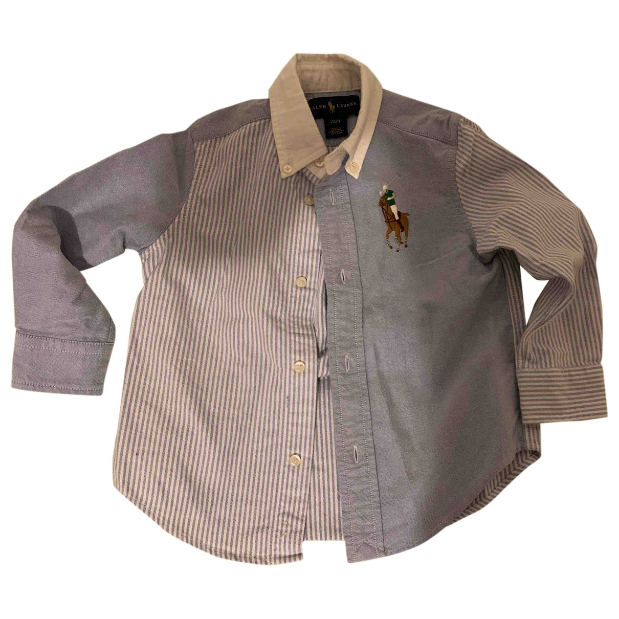 Ralph Lauren \N Blue Cotton  top for Kids 2 years - up to 86cm FR