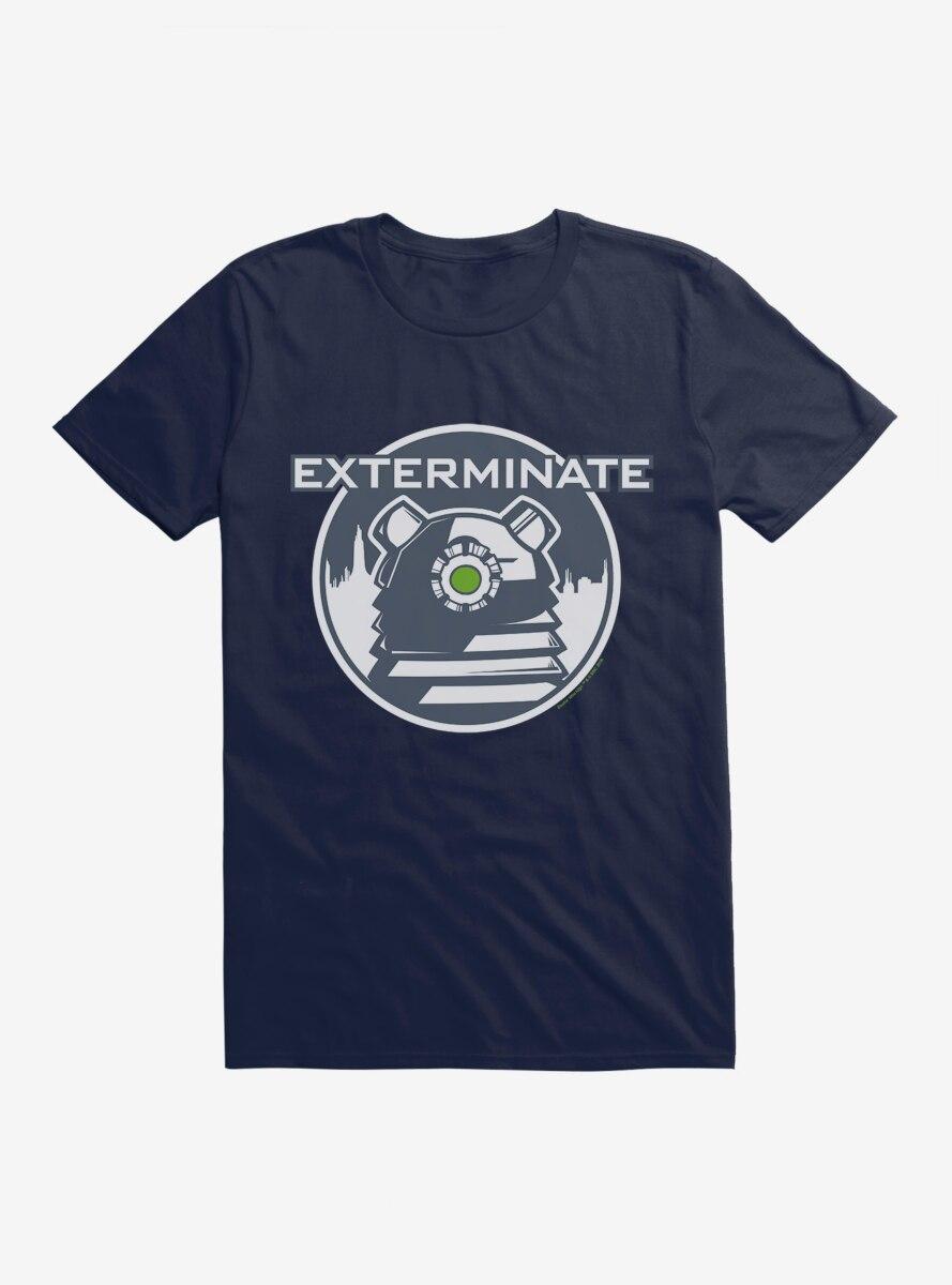 Doctor Who Dalek Extermination T-Shirt
